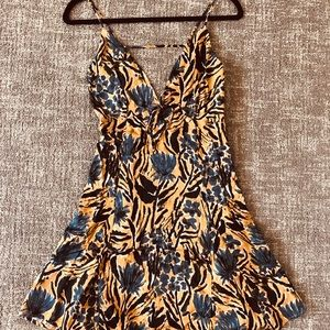Free People Tie-Front Dress